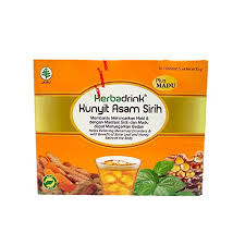 cara membuat jamu kunir asem sirih amazon com herbadrink kunyit asam sirih plus madu 1 pack 5
