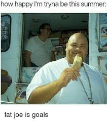 Fat Joe Meme - how happy i m tryna be this summer fat joe is goals fat joe meme