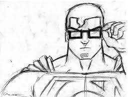 superman quick sketch by norbyela on deviantart