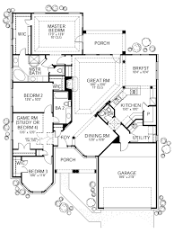 Mediterranean Style House Plans With Photos Mediterranean Style House Plan 4 Beds 2 5 Baths 2058 Sq Ft Plan