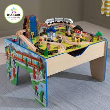 Imaginarium Mountain Rock Train Table Kidkraft Metropolis 100 Piece Wooden Train Table Set Part 48