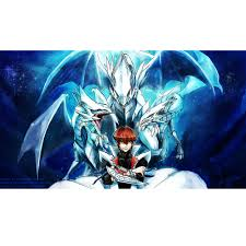 seto kaibe blue eyes white dragon master limited edition 35x60cm