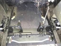 1968 mustang front suspension suspension
