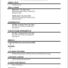 blank resume templates pdf resume template blank resumes templates fill in the for highschool