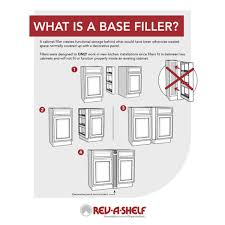 what is a cabinet base filler rev a shelf 432 bf 6c 6 inch cabinet base filler pullout organizer rack maple