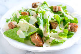 easy caesar salad recipe with homemade dressing