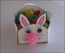 easter bunny baskets projects for preschoolers