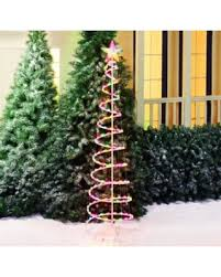deal on time 6 multi color spiral tree