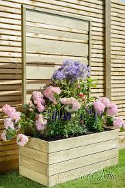 small plant supports outdoor 80 garden and patio old and vintage wood flower boxes