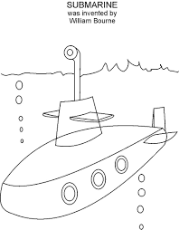 submarine coloring pages snapsite me