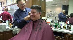 old time barber shop haircut with burl youtube