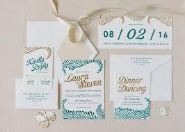 wedding invitation suites 15 glam foiled wedding invitation suites weddbook