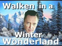 Christopher Walken Memes - walken in a winter wonderland a special holiday message youtube
