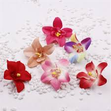 fake flowers for home decor free shipping color artificial silk flowers lily flowers heads 8cm