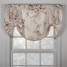 Tie Up Valance Curtains Chatsworth Tie Up Valance Available In 3 Colors
