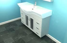 smart narrow depth bathroom vanity cabinets vanities narrow