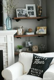 Wall Shelf Ideas For Living Room Best 25 Industrial Shelves Ideas On Pinterest Pipe Shelves
