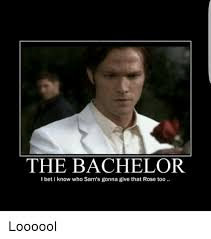 The Bachelor Meme - the bachelor l bet i know who sam s gonna give that rose too loooool