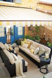 How To Install A Retractable Awning Residential Shade Fabrics Sunbrella Fabrics