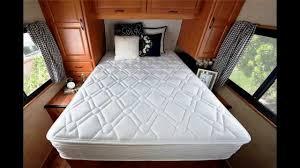 sleep master 10 pillow top spring rv mattress short queen youtube