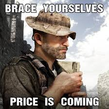 Call Of Duty Ghosts Meme - call of duty ghosts captain price dlc confirmed new rubber duck