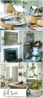Decorating House Ideas Fall Tour Home Decorating Ideas On A Budget
