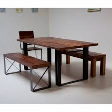 rustic dining table legs dining room rustic wood dining table with metal legs designs