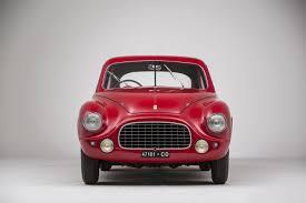 ferrari 166 front the classic car trust