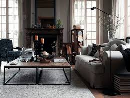 Industrial Home Interior Design by Vintage Industrial Living Room Home Decorating Interior Design