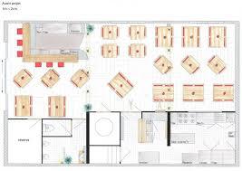 plan d une cuisine de restaurant restaurant le bon sens à farges 01 x act design