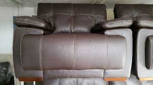 Scs Armchairs Brand New Endurance Infinity Brown 3 Seater Sofa 2 Armchairs