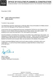 a recommendation letter free resumes tips