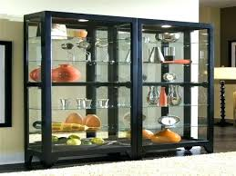 glass corner curio cabinet contemporary curio cabinets glass notor me