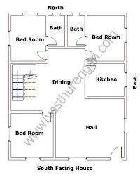 West Facing House Vastu Floor Plans South Facing Houses Vastu Plan 3 Vasthurengan Com