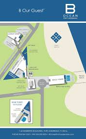 Fort Lauderdale Map B Ocean Ft Lauderdale Property Map On Behance