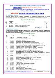 iso 13485 documentation pdf flipbook