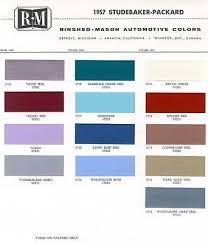 22 best car paint chips 1957 images on pinterest color charts