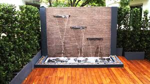 garden fountain extraordinary water fountains at lowes lowes outdoor wall water fountains modern outdoor wall fountain with wooden floor and natural stone and plants