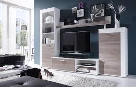 Wohnzimmer Modern Eiche Wohnwand Weiß Eiche Groß Wohnwand Modern Eiche Weiß 92115 Haus