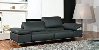 canap cuir gris canape cuir gris clair canapac ub design victor 3 places angle relax