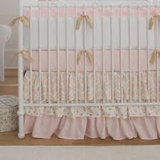 pink and gold nursery bedding inspirational pale pink and gold