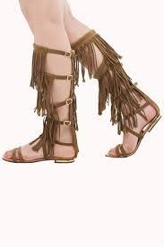 flat sandals fringe sandals tall fringe sandals