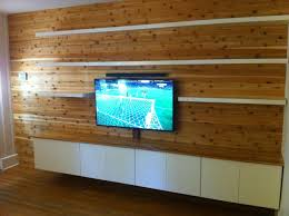 Wood Panels For Walls by Furniture Sophisticated Wooden Floating Entertainment Center With