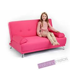 childrens cotton twill clic clac sofa bed with armrests futon
