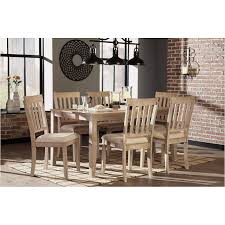 ashley dining room tables d484 425 ashley furniture mattilone dining room dining room table