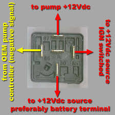 5 pin relay wiring diagram fuel pump wiring diagram and