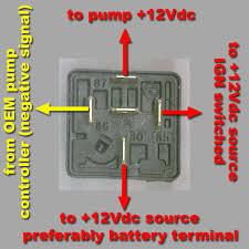 bosch relay wiring diagram fuel pump wiring diagram and