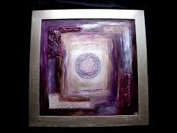 Tableau Triptyque Contemporain by Blanc Poca Artiste Peintre