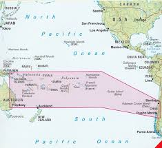 Easter Island Map South Pacific Islands Nelles