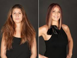 hairstyle makeovers before and after jet black hair studio ottawa hair and makeup makeover christina